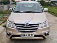 Xe Toyota Innova sản xuất 2014, màu kem be, giá thấp, full đồ giá 368 triệu tại Thanh Hóa
