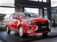 Bán ô tô Mitsubishi Attrage đời 2020, màu đỏ, số sàn, nhập Thái giá 375 triệu tại Hà Nội