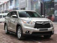Bán Toyota Highlander LE 2.7 đời 2014, màu vàng, xe nhập   giá 1 tỷ 500 tr tại Hà Nội