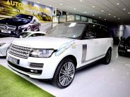 Cần bán LandRover Range Rover Autobiography LWB 5.0L năm sản xuất 2016, màu trắng, nhập khẩu số tự động giá 7 tỷ 600 tr tại Tp.HCM