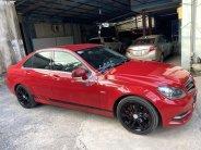 Bán xe Mercedes C200 1.8AT đời 2011, màu đỏ số tự động giá 535 triệu tại Tp.HCM
