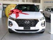 Bán Hyundai Santa Fe đời 2020, màu trắng giá 1 tỷ 100 tr tại Tp.HCM