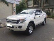 Cần bán xe Ford Ranger 2013, số sàn, máy dầu 2 cầu, màu trắng giá 397 triệu tại Tp.HCM