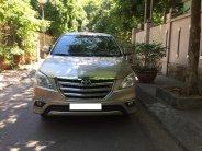 Gia đình cần bán chiếc xe ô tô Toyota Innova 2.0E SX 2016, màu ghi vàng giá 415 triệu tại Hà Nội