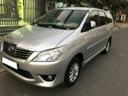 Gia đình cần bán xe Innova 2012, số tự động, phom mới, màu bạc giá 393 triệu tại Tp.HCM
