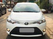Gia đình cần bán xe Vios 2017 số sàn, màu trắng xe gia đình sử dụng  giá 388 triệu tại Tp.HCM