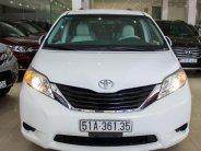 Xe Toyota Sienna đời 2012, màu trắng, nhập khẩu nguyên chiếc giá 1 tỷ 420 tr tại Tp.HCM