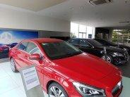 Cần bán lại xe Mercedes CLA200 Facelift sản xuất 2018, màu đỏ, nhập khẩu chính hãng giá 1 tỷ 370 tr tại Tp.HCM