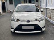 Cần bán Toyota Vios 2018 số sàn màu trắng  giá 393 triệu tại Tp.HCM