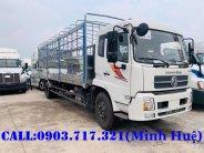 Bán xe tải DongFeng 9 tấn thùng dài 7m5 nhập 2019 | Xe Dongfeng 9 tấn ISB180 giá 910 triệu tại Long An