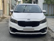 Bán ô tô Kia Sedona AT sản xuất 2016, màu trắng, xe gia đình, giá 756tr giá 756 triệu tại Tp.HCM