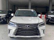 Bán Lexus LX570 màu trắng, model và đăng kỹ 2020 mới 99,9%, lăn bánh 6000 Km, hóa đơn đủ giá 7 tỷ 960 tr tại Hà Nội