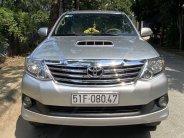 Cần bán lại xe Toyota Fortuner đời 2015, màu bạc, số sàn giá 600 triệu tại Tp.HCM