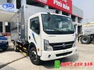 Xe tải NISSAN 3T5 Thùng kín inox 4m3. Hỗ trợ trả góp đến 80% giao xe ngay giá 120 triệu tại Bình Dương