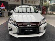 Mitsubishi Attrage CVT trắng giao ngay tặng quà 10 triệu giá 460 triệu tại Hà Nội