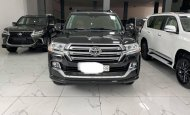 Bán xe Toyota Land Cruiser 5.7 2018, màu đen, nhập khẩu giá 7 tỷ 100 tr tại Hà Nội