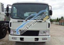 Xe tải Hyundai 3 chân, 14 tấn, cầu nâng, thùng dài 7.4m