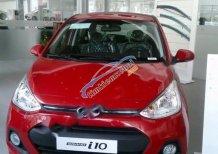 Cần bán Hyundai Grand i10 1.2AT đời 2017, màu đỏ, nhập khẩu