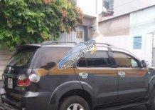 Cần bán lại xe Toyota Fortuner G đời 2010, màu xám số sàn