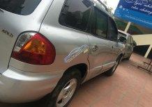 Cần bán gấp Hyundai Santa Fe Gold đời 2003 màu bạc, số tự động