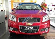 Chevrolet Aveo LT 1.4L màu đỏ 5 chỗ, hỗ trợ vay ngân hàng đến 90%, LH: 0945.307.489