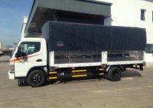 Bán xe tải thùng bạt tải trọng 4.5 tấn, xe tải Fuso Canter 8.2 tải trọng 4.5 tấn