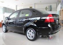 Chevrolet Aveo LT 1.4L màu đen 5 chỗ, hỗ trợ vay ngân hàng đến 90%, LH: 0945.307.489