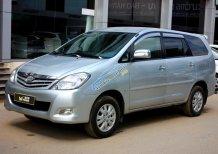 Bán Toyota Innova G 2.0MT 2009, bạc, 78.000km, 495tr