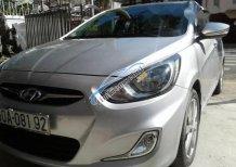 Cần bán gấp Hyundai Accent MT đời 2013, màu bạc, 399tr