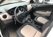 Cần bán lại xe Hyundai Grand i10 1.0LAT sản xuất 2017, màu trắng