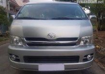 Cần bán Toyota Hiace đời 2008, màu bạc, xe nhập, 318 triệu