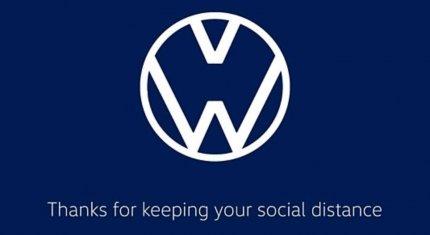 """Volkswagen và Audi """"biến tấu"""" logo, truyền thông điệp đẩy lùi dịch bệnh"""